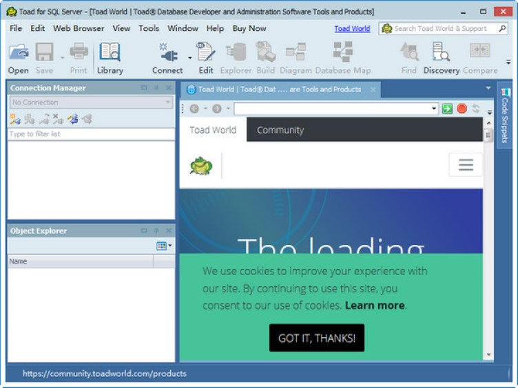 Toad for SQL Server 6.8.2.9 Xpert Edition Free Download
