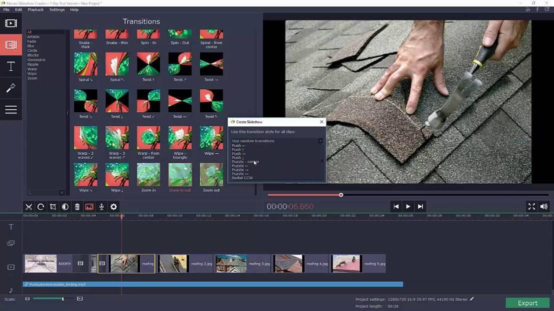 Movavi Slideshow Maker 4.2.0 Free Download for Mac