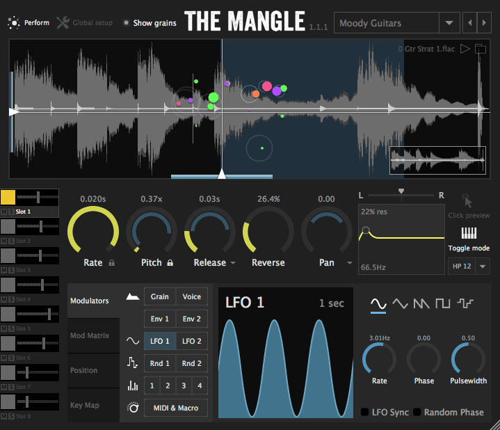 The Mangle Granular Synth/Sampler Free For Win & Mac OSX