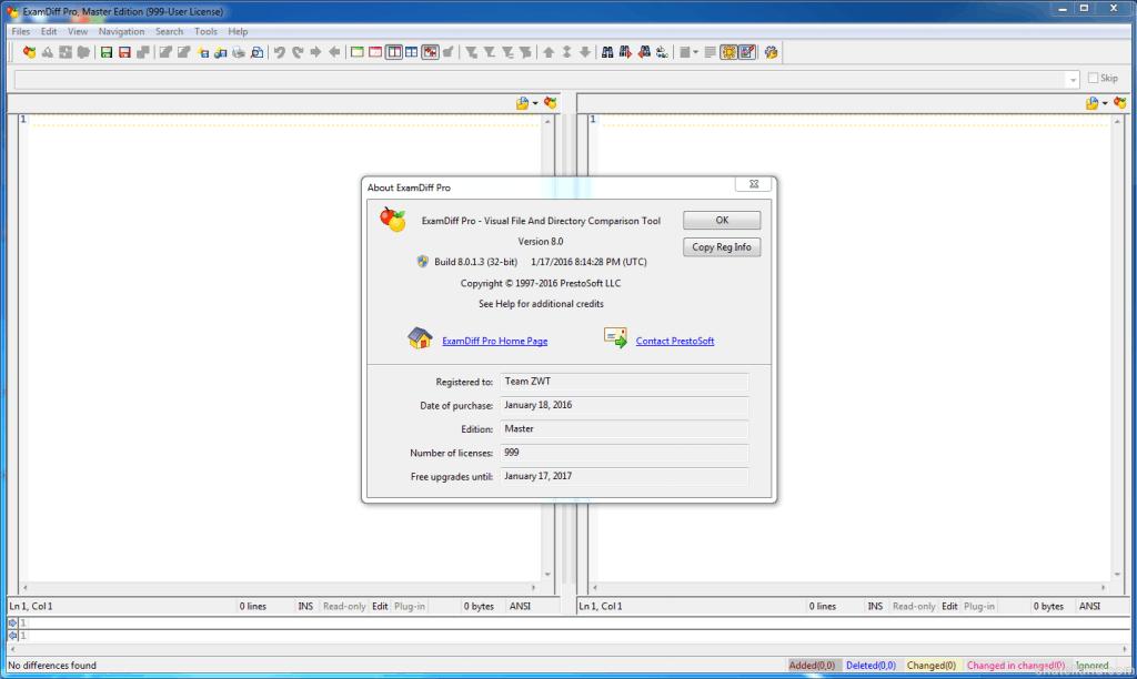 ExamDiff Pro Master Edition 10.0.1 Free Download