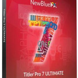 NewBlueFX Titler Pro 7 Ultimate 7.5.210212  Free Download