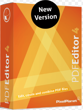 PixelPlanet PdfEditor Professional 4 crack download