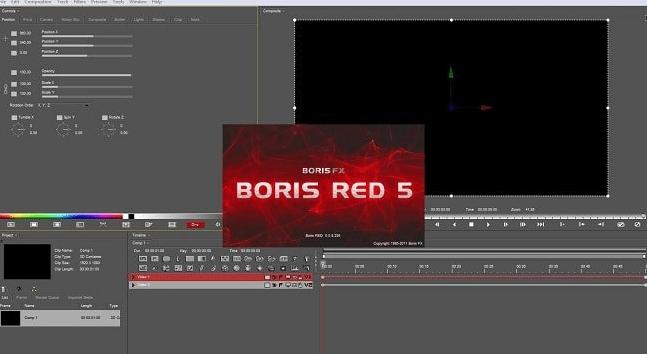 Boris RED 5 free download