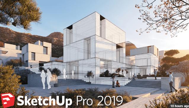 SketchUp Pro 2019 free downloadSketchUp Pro 2019