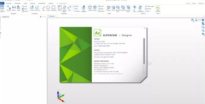 ALPHACAM Designer 2020 crack download