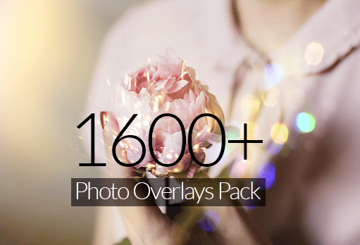 1600+ Photo Overlay Pack for Photoshop