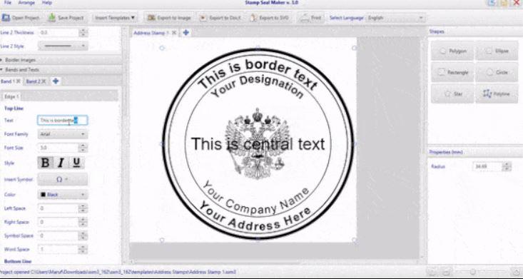 Stamp Seal Maker 3