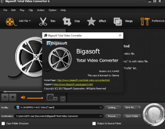 Bigasoft Total Video Converter 6