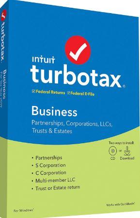 Intuit TurboTax Business 2019