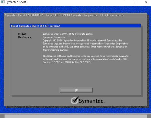 Symantec Ghost Boot CD 12