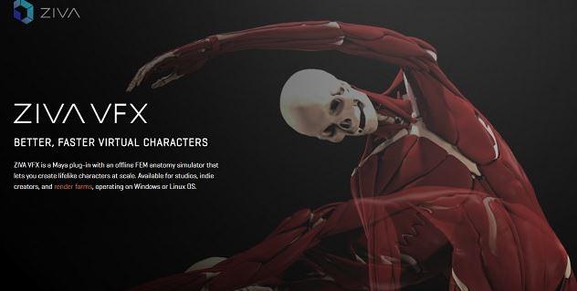 Ziva Dynamics Ziva VFX 1.8 for Maya 2019 Free Download