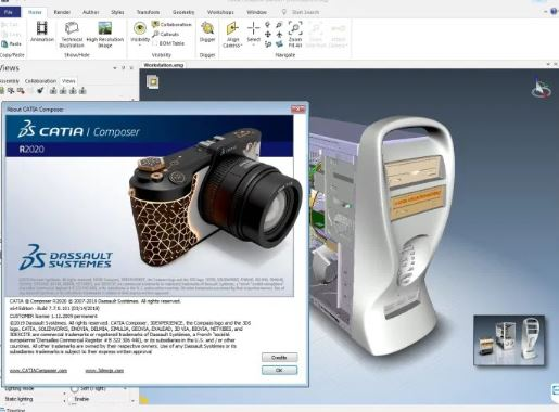 DS CATIA Composer R2020