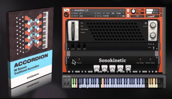 Sonokinetic – Accordion (KONTAKT) Free Download