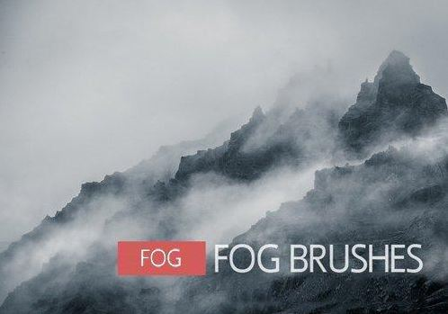 12 Fog & Mist Brushes for Photoshop Free Download