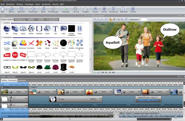 AquaSoft SlideShow Premium 11