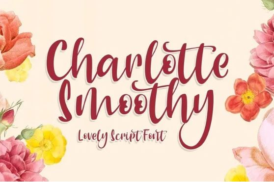 Charlotte Smoothy Script Font Free Download