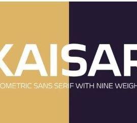 Kaisar Sans Serif Font Free Download