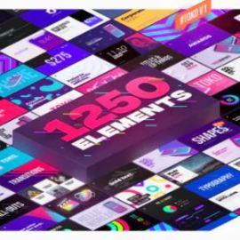 Videohive 1250+ Toko Graphics Pack Final Cut Pro X & Apple Motion (premium)