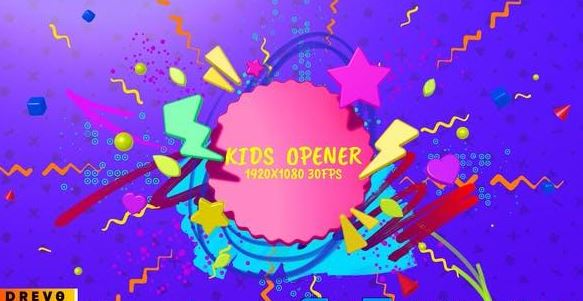 Videohive Kids Opener