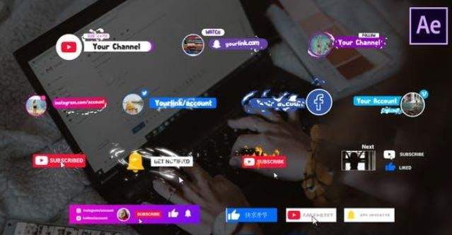 Videohive Social Media Subscribers After Effects Free Download