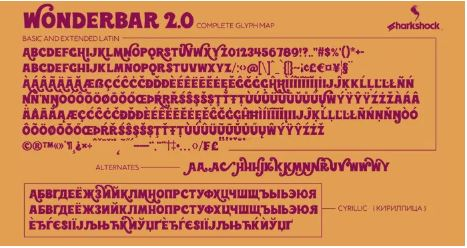 Wonderbar 2.0 Display Font Free Download