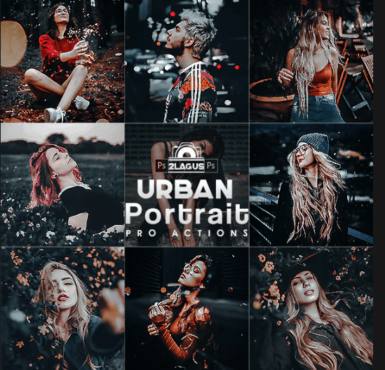 GraphicRiver – Urban Portrait Photoshop Actions 27473122
