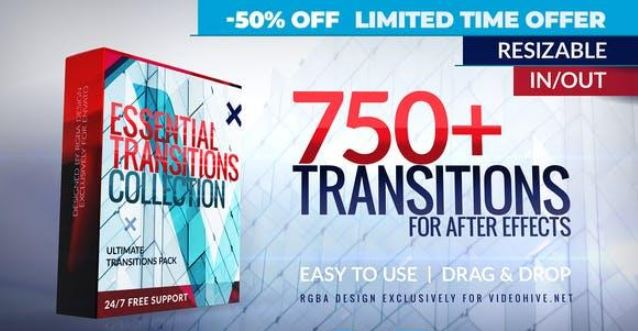Videohive Transitions Free Download