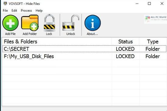 VovSoft Hide Files 6