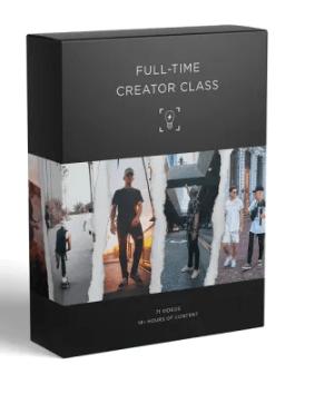 Jeremiah Davis THE FULL-TIME CREATOR CLASS Free Download
