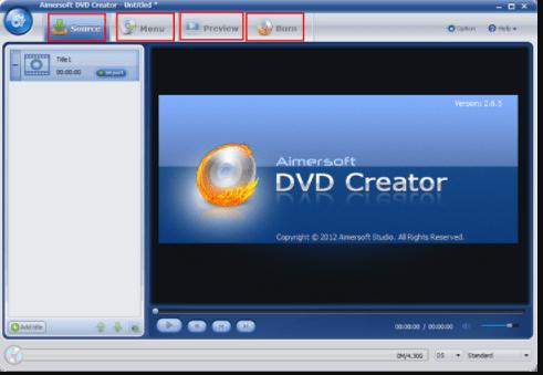 Aimersoft DVD Creator 6