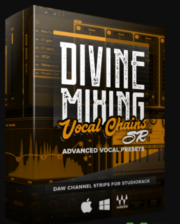 Sean Divine Divine Mixing Vocal Chains SR for Waves StudioRack-DECiBEL