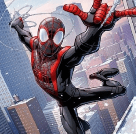 Spiderman Miles Morales Tutorial by Patrick Brown