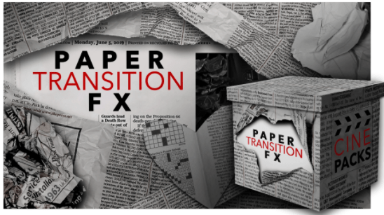 PAPER TRANSITION FX CINEPACKS