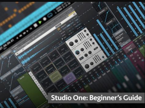 Studio One Beginners Guide by Eli Krantzberg