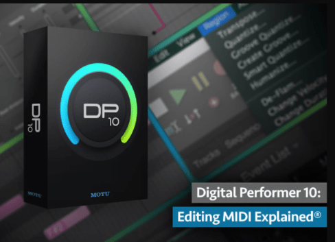 Digital Performer 10 Editing MIDI Explained by Gary Hiebner