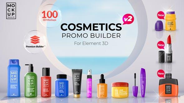 Videohive Cosmetics Promo Builder V2 27750938