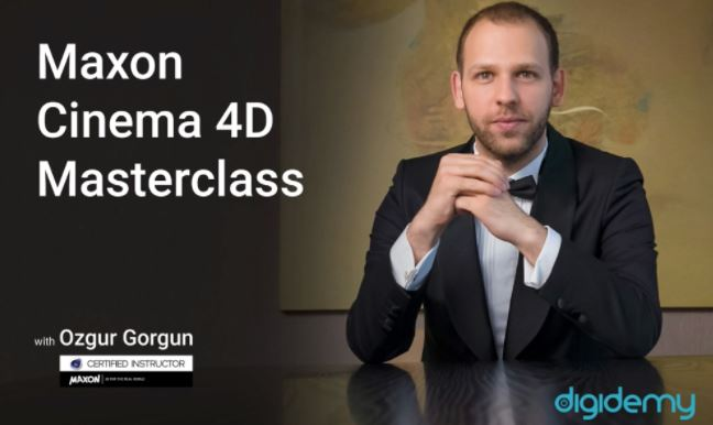 Cinema 4D MasterClass with Ozgur Gorgun