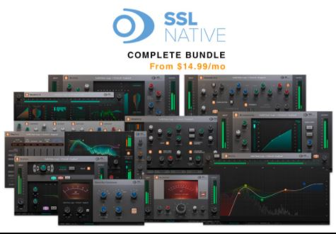 Solid State Logic SSL Native Plugins v6.5.30 Free Download