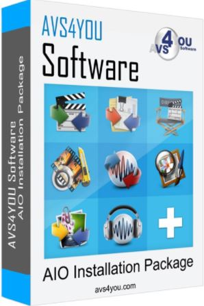 AVS4YOU AIO Software Package 5