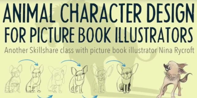 Animal Character Design for Picture Book Illustrators with Nina Rycroft
