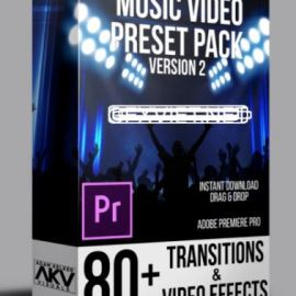 HOT! Music Video Preset Pack + Transition Vol. 2 for Premiere