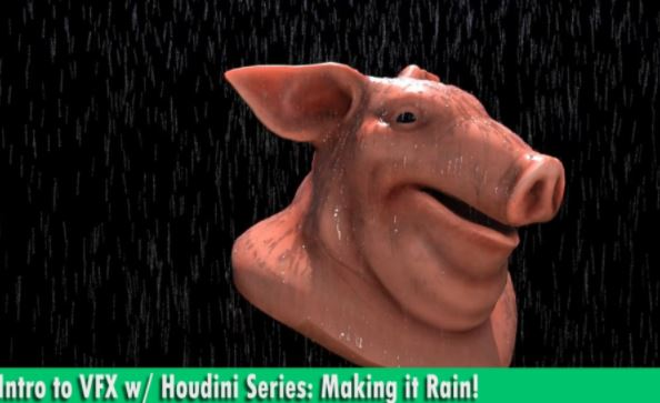 Introduction to VFX with Houdini Series: Making it Rain by Chris Rasch