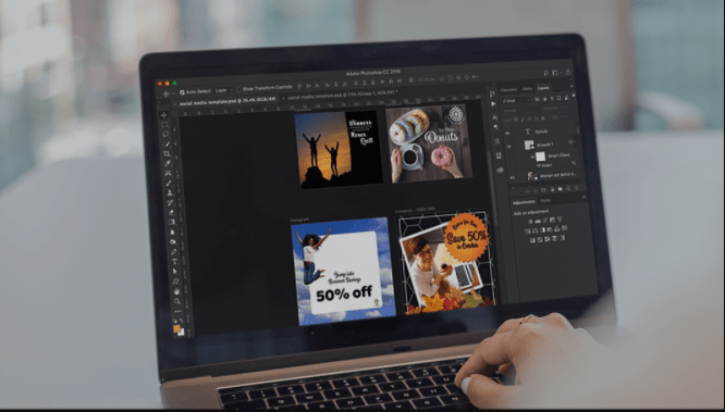 Photoshop CC Creating Social Media Graphics By Melissa Piccone