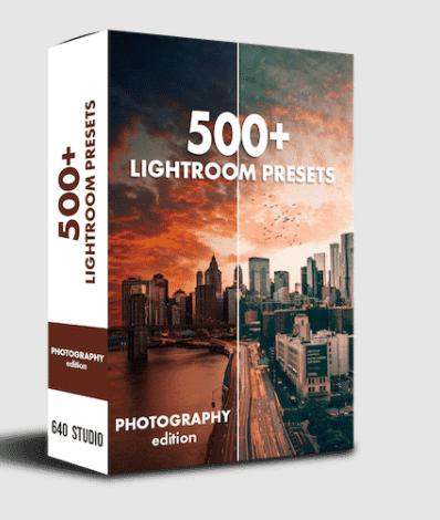 640studio 500+ Lightroom Presets Pack Free Download