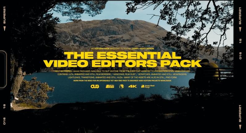 James Abadi – The Essential Video Editors Pack