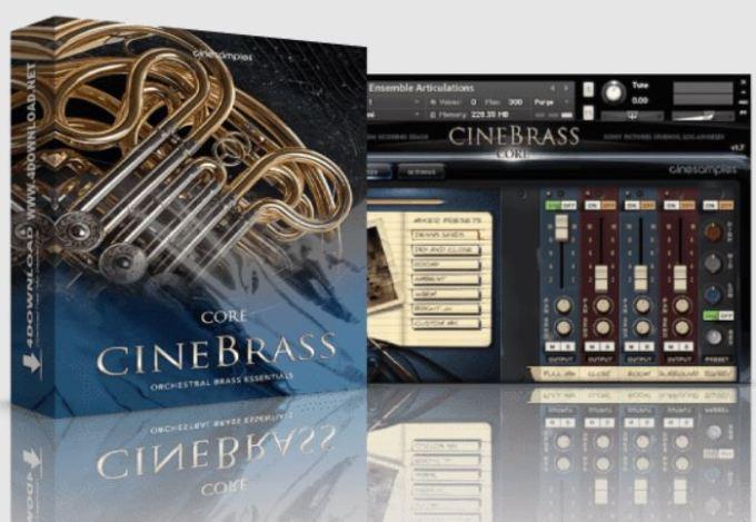 Cinesamples CineBrass CORE v1.7.0 rollerball's Lite Version KONTAKT