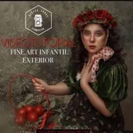Rebeca Saray – Fine Art Children's Exterior (Video Tutorial)  (premium)