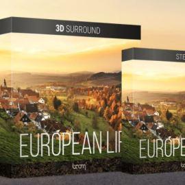 Boom Library European Life 3D Surround / Stereo WAV (premium)
