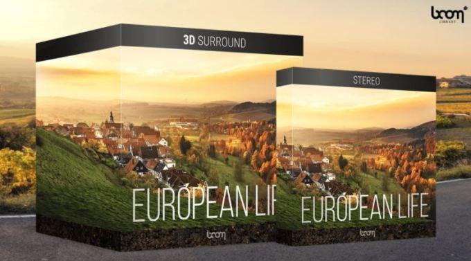 Boom Library European Life 3D Surround