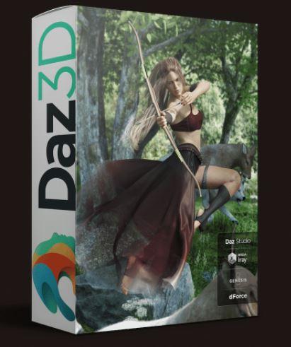 DAZ3D POSER BUNDLE 1 JUNE 2021